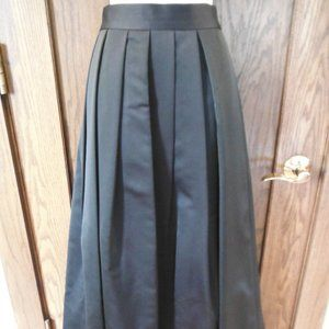 BlackTie Oleg Cassini Pleated Floor Length Skirt